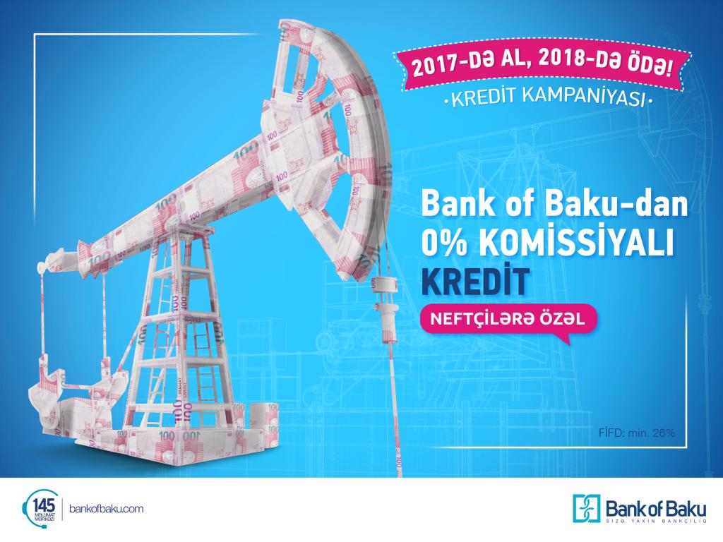 Neftçilər kampaniyası - Bank of Baku